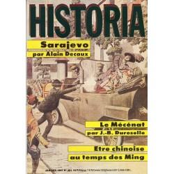 Historia n° 481 - Sarajevo par Alain Decaux