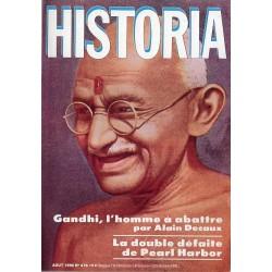 Historia n° 476 - Gandhi, l'homme à abattre