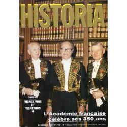 Historia n° 468 - L'Académir française célèbre ses 350 ans