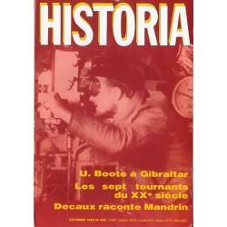 Historia n° 466 - U.Boote à Gibraltar