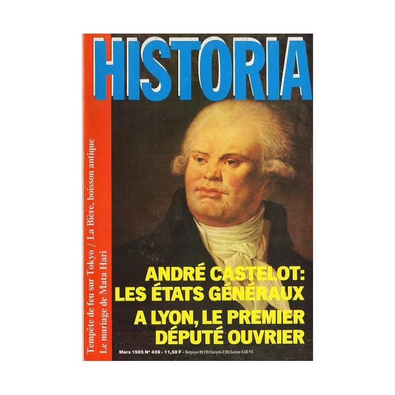 Historia n° 459 - Les États Généraux (André Castelot)