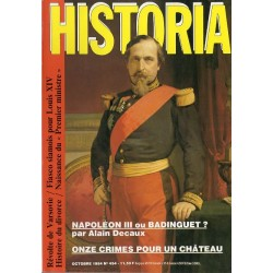 Historia n° 454 - Napoléon III ou Badinguet ? (Alain Decaux)