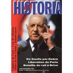 Historia n° 453 - De Gaulle par Debré