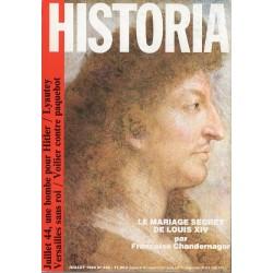 Historia n° 452 - Le mariage secret de Louis XIV (Françoise Chandernagor)