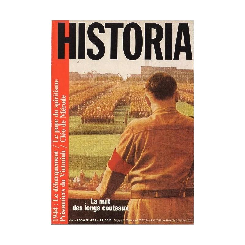 Historia n° 451 - La nuit des longs couteaux