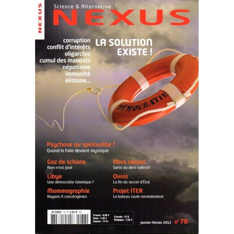 Nexus n° 78 - Corruption, conflit d'intérêts, Une Solution existe !