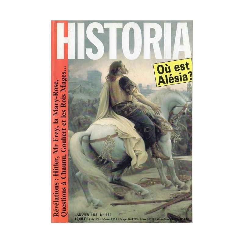 Historia n° 434 - Nos Ancêtres les Gaulois - Où est Alésia ?