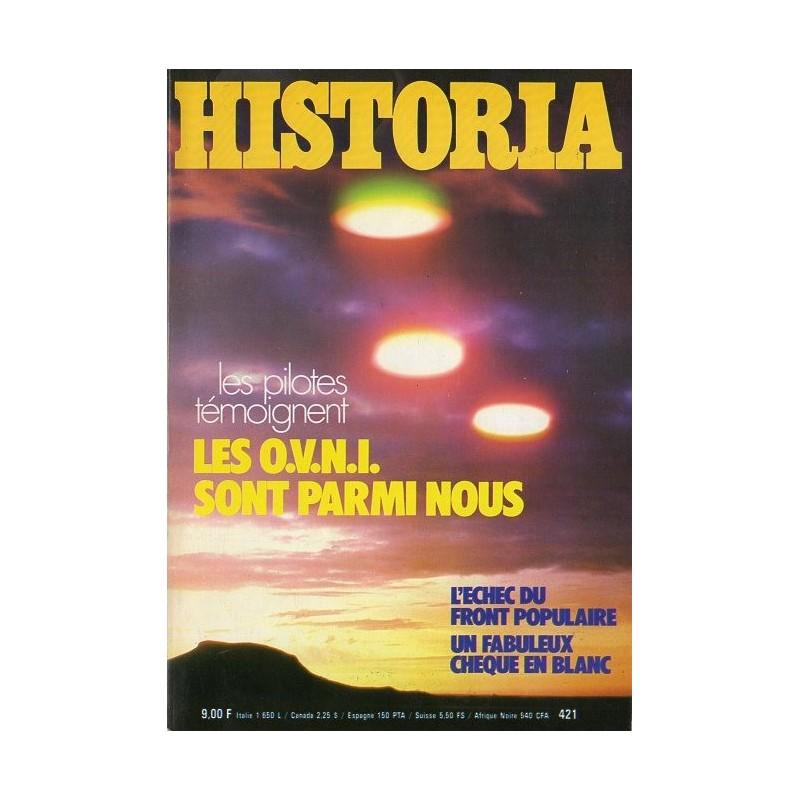 Historia n° 421 - Les pilotes témoignent : Les OVNI sont parmi nous