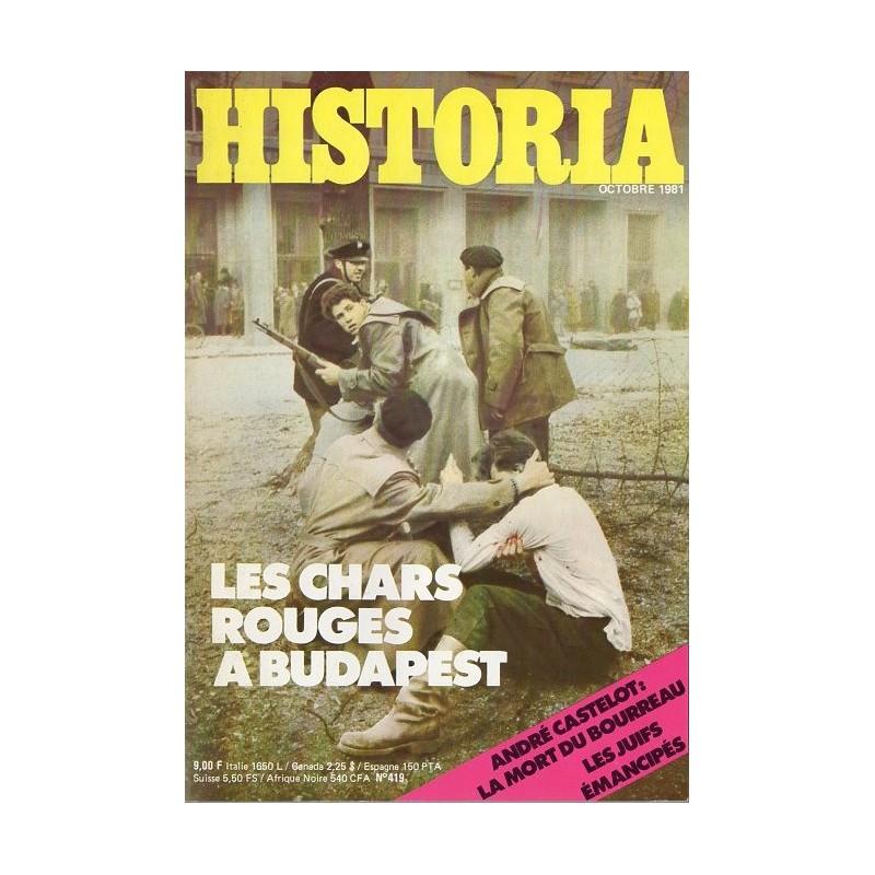 Historia n° 419 - Les chars rouges à Budapest
