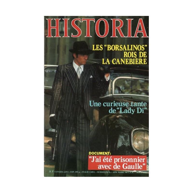 """Historia n° 417 - Les """"Borsalinos"""" rois de la Canebière"""