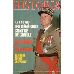Historia n° 413 - 1961 : Les Généraux contre De Gaulle