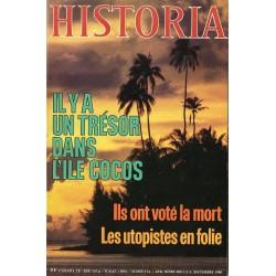 Historia n° 406 - Il y a un trésor dans l'île Cocos
