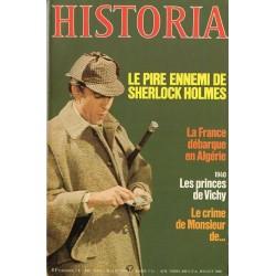 Historia n° 404 - Le pire ennemi de Sherlock Holmes