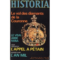 Historia n° 403 - Le vol des diamants de la Couronne