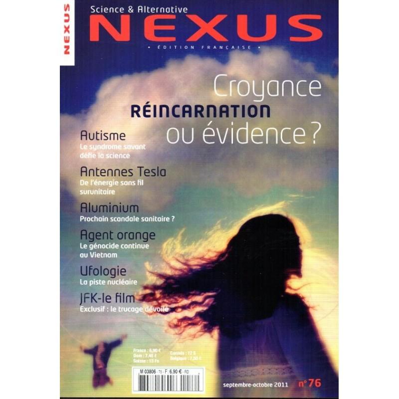 Nexus n° 76 - Réincarnation : Croyance ou évidence ?