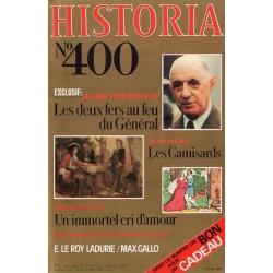 Historia n° 400 - Les deux fers au feu du Général (Alain Peyrefitte)