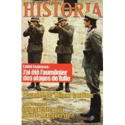 """Historia n° 398 - L'abbé Espinasse : """"J'ai été l'aumônier des otages de Tulle"""""""