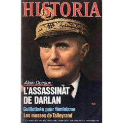 Historia n° 394 - L'assassinat de Darlan (par Alain Decaux)