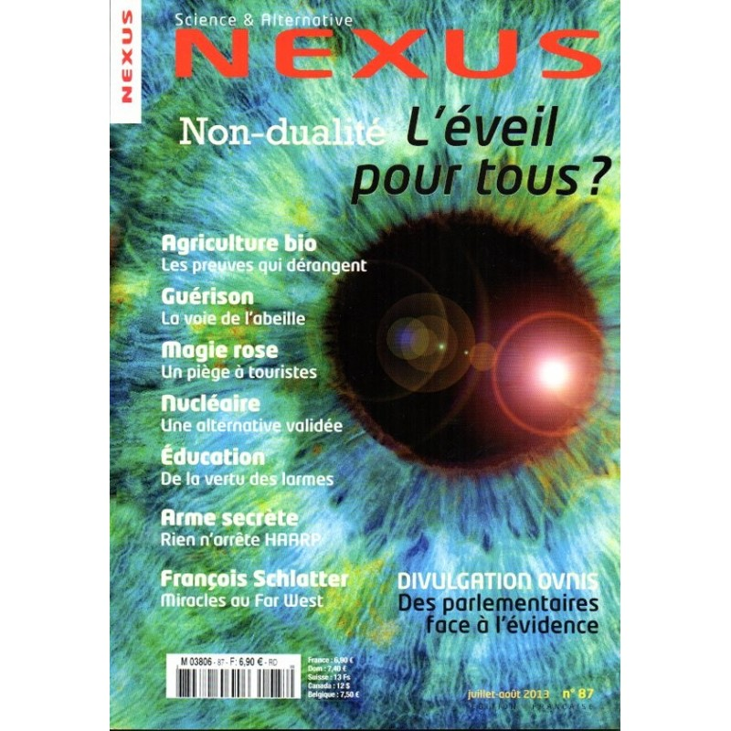 Nexus n° 87 - Non-dualité, L'éveil pour tous ?