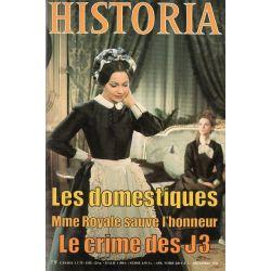 """Historia n° 385 - La """"Belle époque"""" des domestiques"""