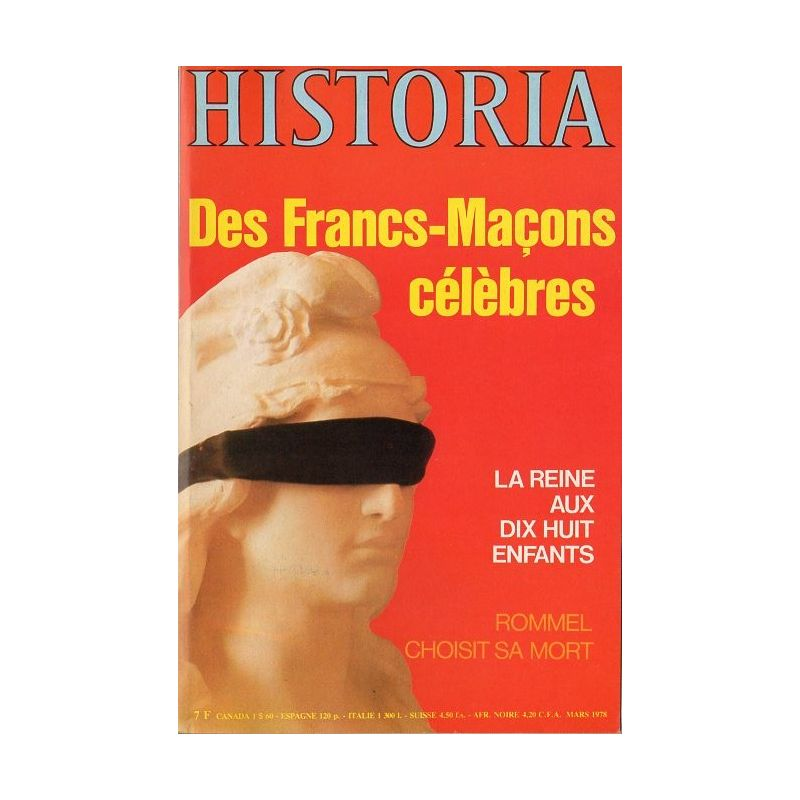 Historia n° 376 - Des Francs-Maçons célèbres