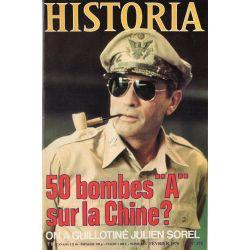 """Historia n° 375 - 50 bombes """"A"""" sur la Chine ?"""