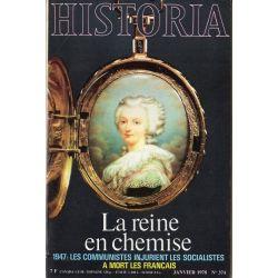 Historia n° 374 - Marie-Antoinette, la reine en chemise