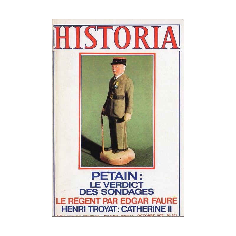 Historia n° 371 - Fallait-il condamner Pétain ? Le verdict des sondages