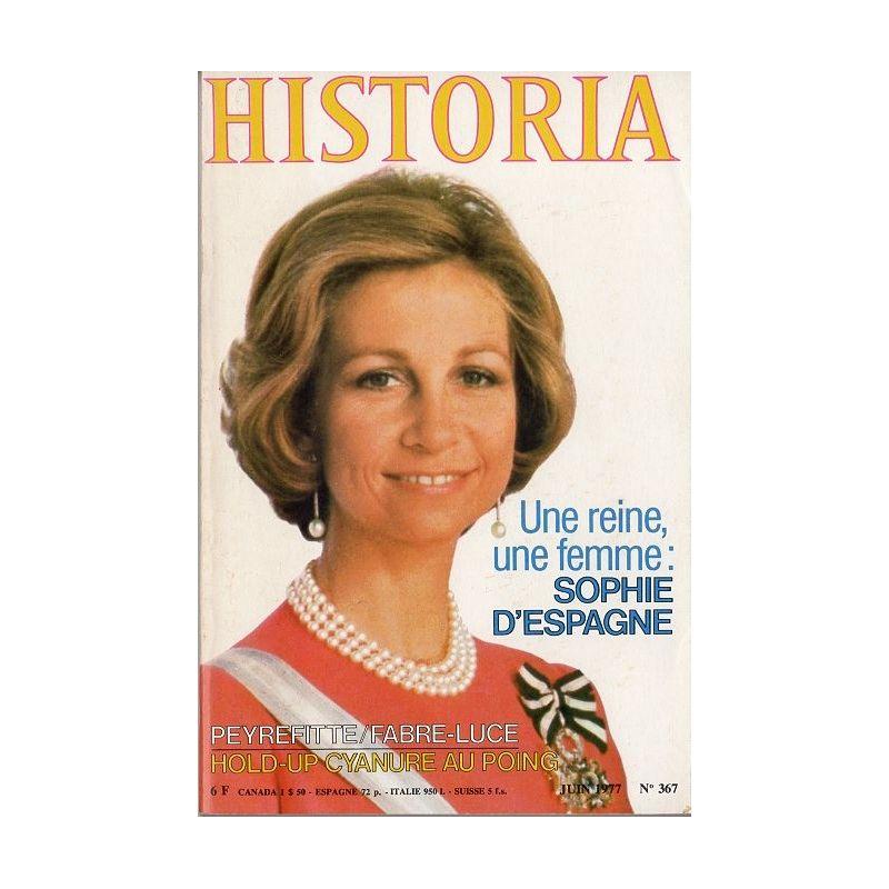 Historia n° 367 - Une reine, une femme : Sophie d'Espagne