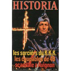 Historia n° 366 - Les sorciers du K.K.K.