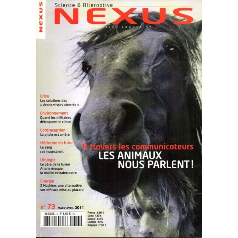 Nexus n° 73 - Les Animaux nous parlent !
