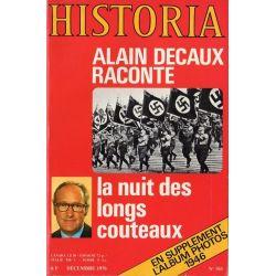 Historia n° 361 - La Nuit des longs couteaux (par Alain Decaux)