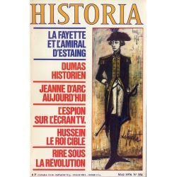 Historia n° 354 - Lafayette et l'Amiral d'Estaing