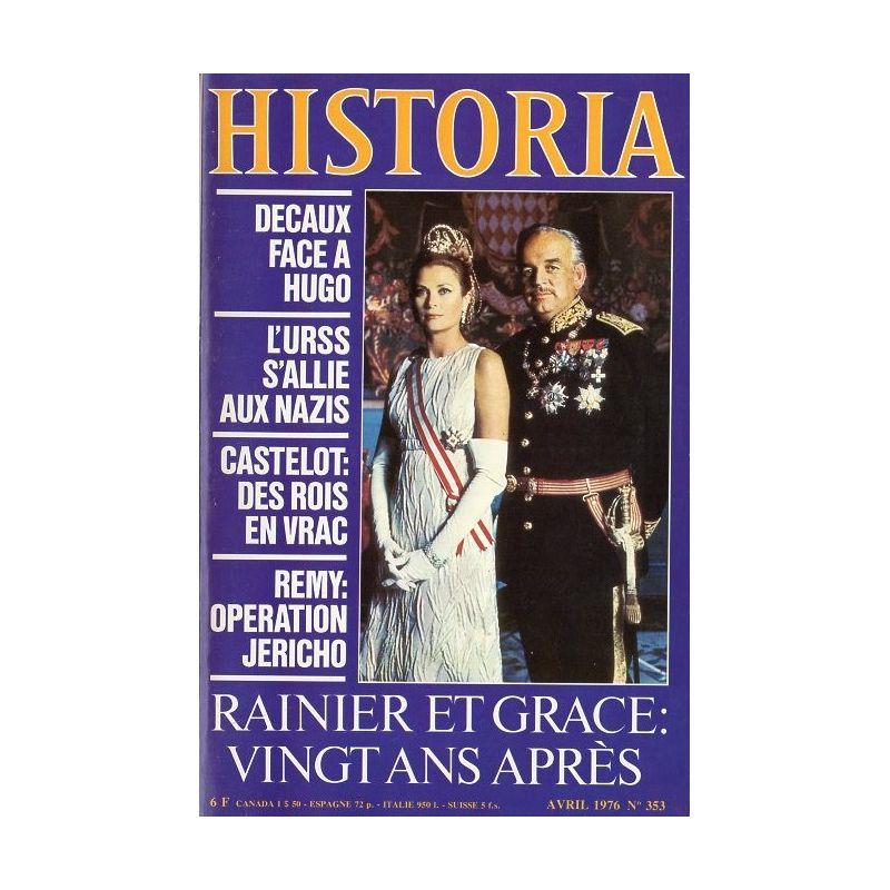 Historia n° 353 - Rainier et Grace : vingt ans après