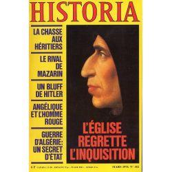 Historia n° 352 - L'Église regrette l'Inquisition