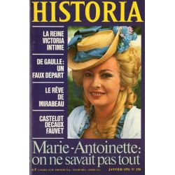 Historia n° 350 - Marie-Antoinette : on ne savait pas tout