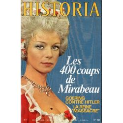 Historia n° 340 - Les 400 coups de Mirabeau