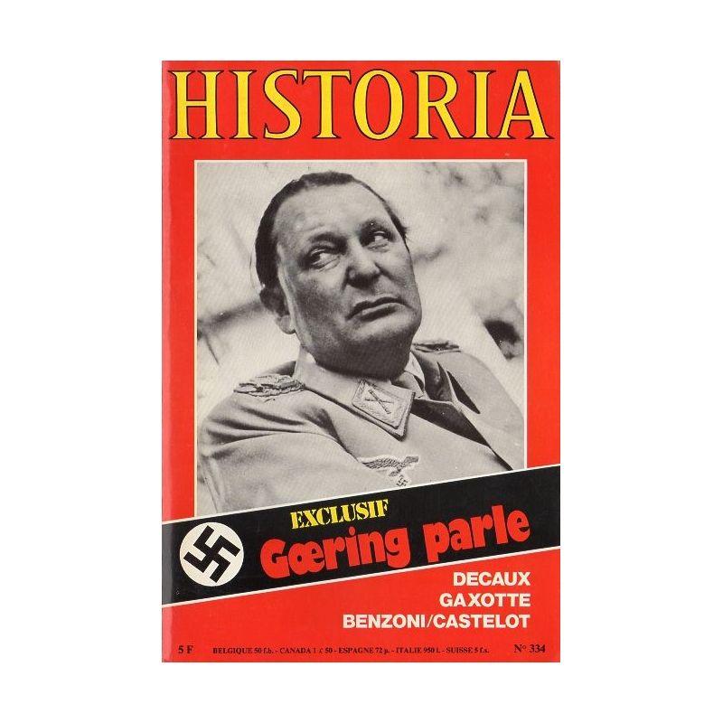 Historia n° 334 - Exclusif : Goering parle
