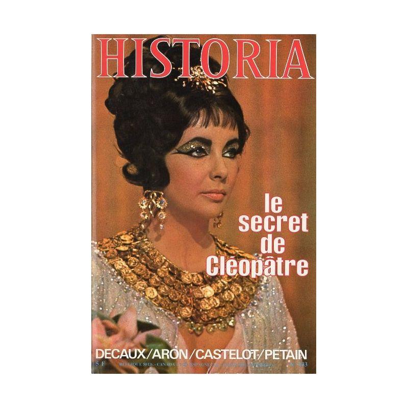 Historia n° 333 - Le secret de Cléopâtre