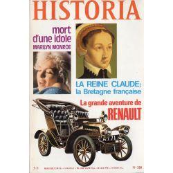 Historia n° 328 - La grande aventure Renault