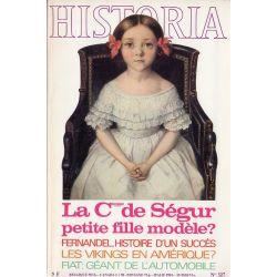 Historia n° 327 - La Comtesse de Ségur, petite fille modèle ?