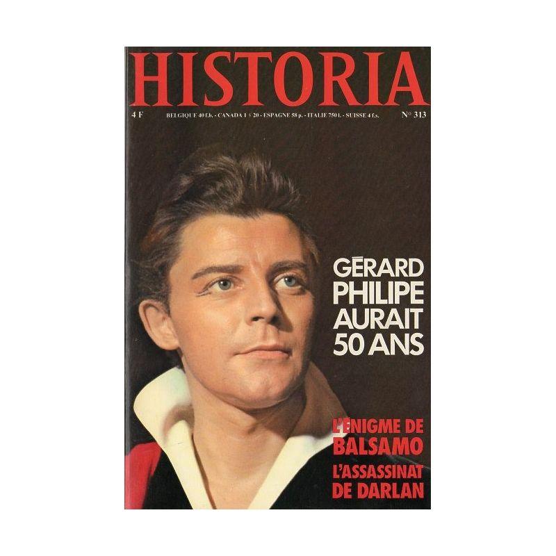 Historia n° 313 - Gérard Philippe aurait 50 ans