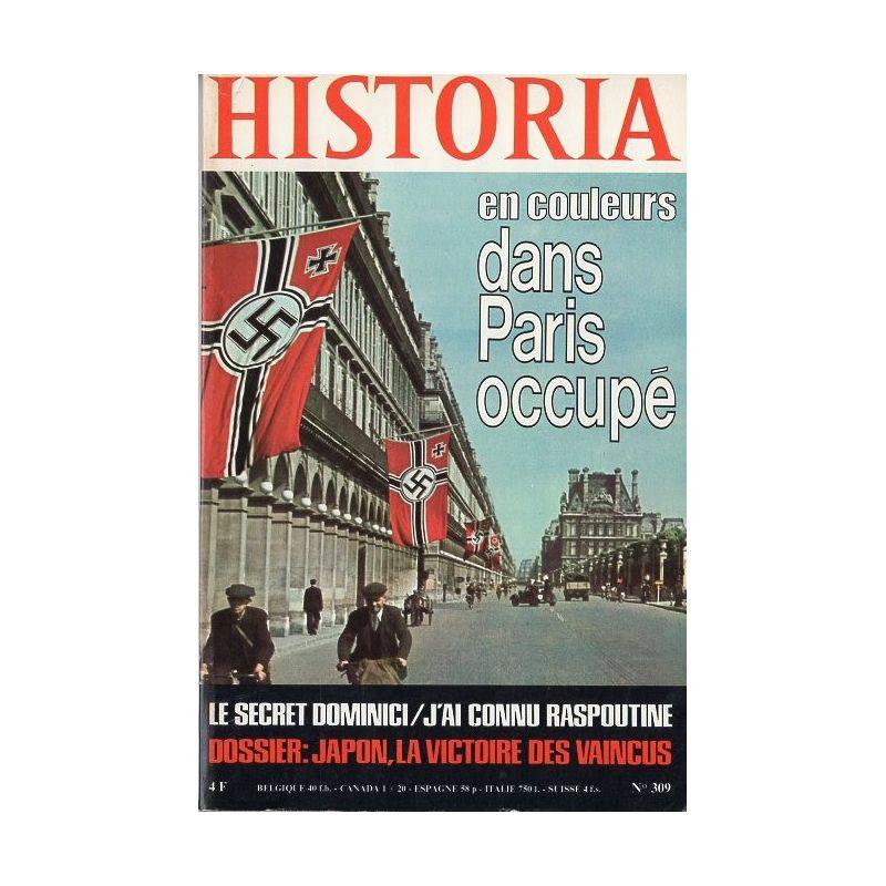 Historia n° 309 - Dans Paris occupé