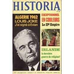 Historia n° 304 - Algérie 1962 Louis Joxe : j'ai signé à Evian