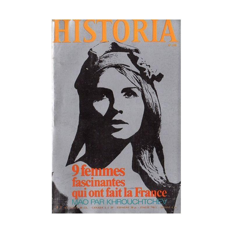 Historia n° 298 - 9 femmes fascinantes qui ont fait la France