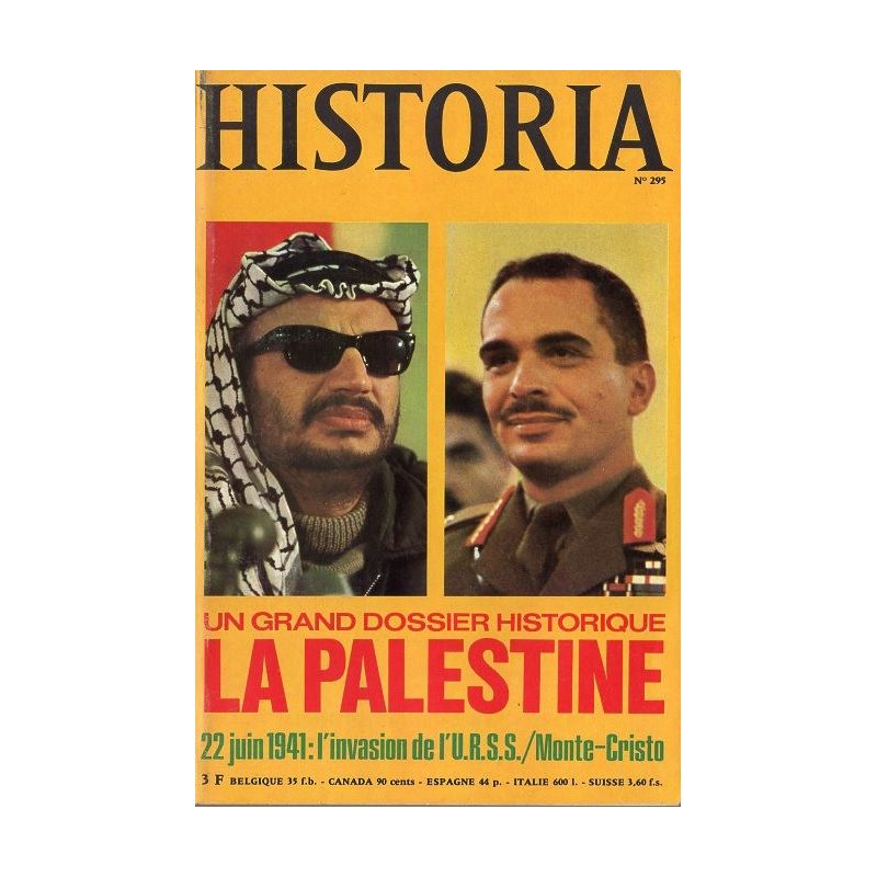 Historia n° 295 - Dossier : La Palestine