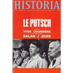 Historia n° 293 - Alger 1961 : Le Putsch