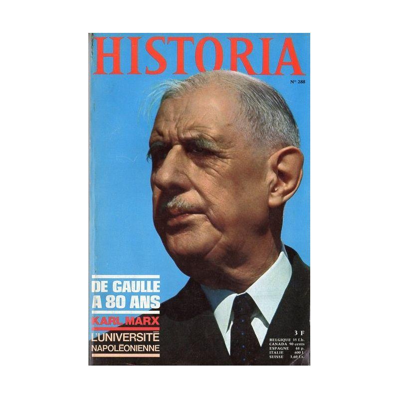 Historia n° 288 - Dossier : De Gaulle a 80 ans