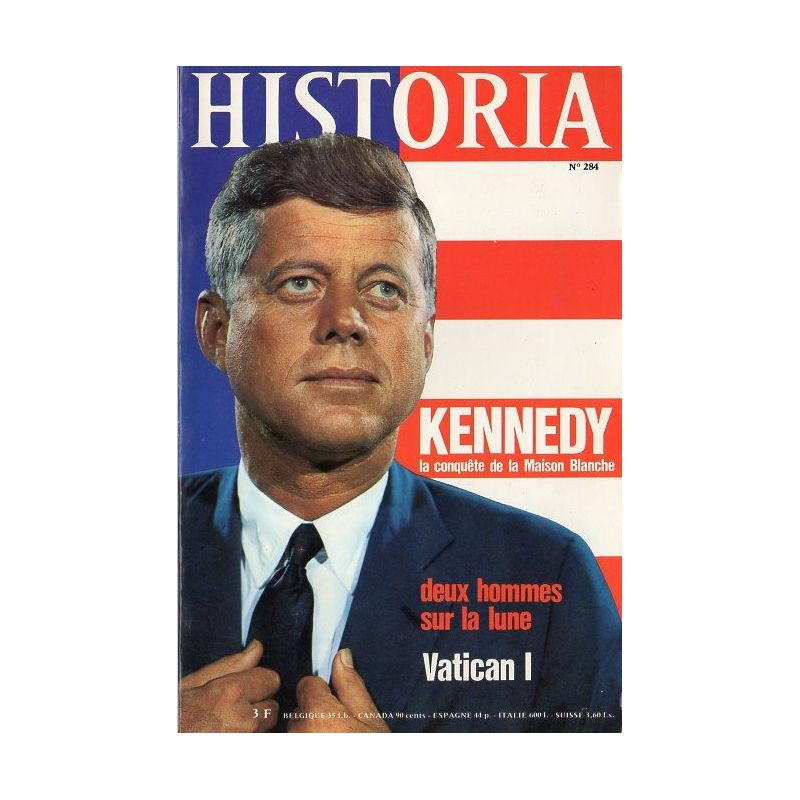 Historia n° 284 - Kennedy : la conquête de la Maison Blanche