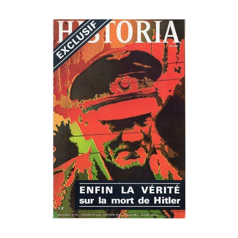 Historia n° 266 - Enfin la vérité sur la mort de Hitler